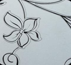 Розы колокольчики, бесцветное/бронза